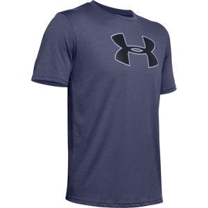 Pánske tričko Under Armour Big Logo SS Blue Ink - L