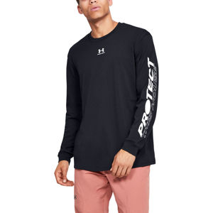 Pánske tričko Under Armour PTH Sleeve LS Black - XXL