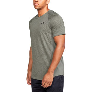 Pánske tričko Under Armour MK1 Jacquard SS Gravity Green - XL