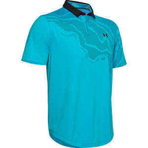 Pánske tričko Under Armour Iso-Chill Shadow Polo Escape - XL