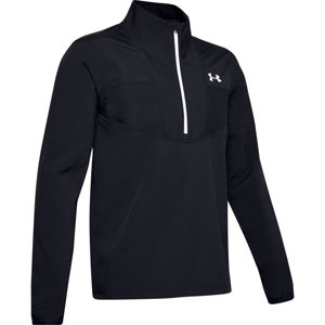 Pánska bunda Under Armour Storm Windstrike 1/2 Zip Black - XXL
