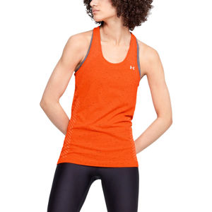 Dámske tielko Under Armour Seamless Melange Tank Beta Orange - M