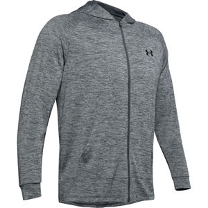 Pánska mikina Under Armour Tech 2.0 Fz Hoodie Pitch Gray - XL