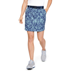 Golfová sukňa Under Armour Links Woven Printed Skort Blue Frost - 6