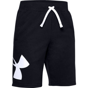 Chlapčenské kraťasy Under Armour Rival Fleece Logo Shorts Black - YXS
