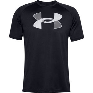 Pánske tričko Under Armour Big Logo Tech SS Black - M