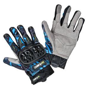 Moto rukavice W-TEC Hardta NF-5350 modrá - XS