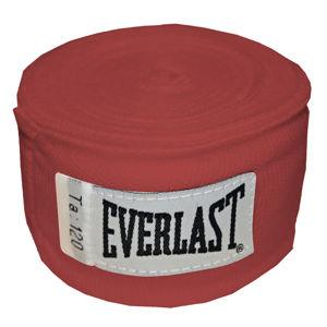Boxerské bandáže Everlast Pro Style Hand Wraps 300 cm červená