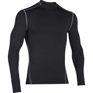 Pánske kompresné tričko Under Armour CG Armour Mock Black - 3XL
