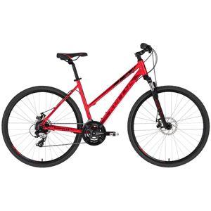 """Dámsky crossový bicykel KELLYS CLEA 70 28"""" - model 2020 Red - S (17'') - Záruka 10 rokov"""
