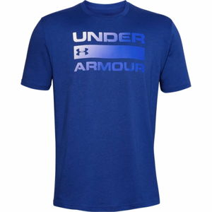 Pánske tričko Under Armour Team Issue Wordmark SS American Blue - M