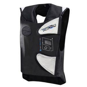 Závodná airbagová vesta Helite e-GP Air čierno-biela - M