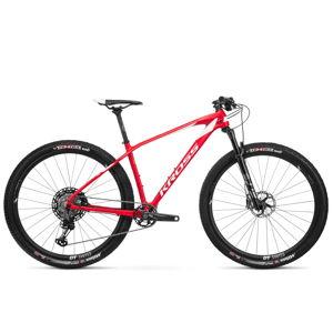 """Horský bicykel Kross Level TE 29"""" - model 2020 červeno-biela - XL (21"""") - Záruka 10 rokov"""