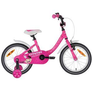 "Detský bicykel KELLYS EMMA 16"" - model 2020 Pink - Záruka 10 rokov"
