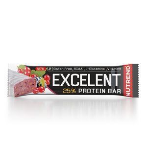 Tyčinka Nutrend EXCELENT Protein Bar 40g čierna ríbezľa s brusnicami