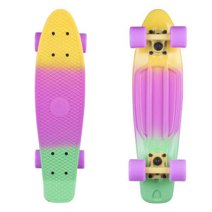 "Penny board Fish Classic 3Colors 22"" Yellow+Summer Purple+Green-Yellow-Summer Purple"