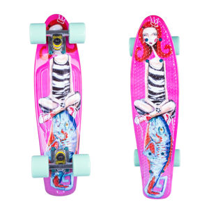 "Pennyboard ArtFish Girl 22"" mix"