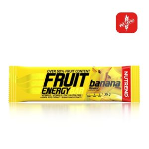 Tyčinka Nutrend Fruit Energy Bar 35g banán