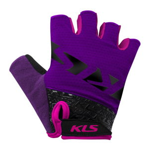 Cyklo rukavice Kellys Lash Purple - L