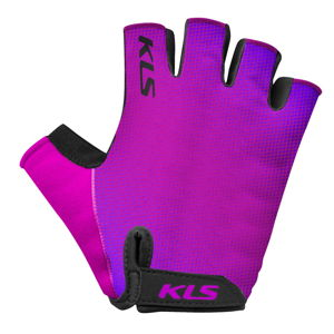 Cyklo rukavice Kellys Factor Purple - XL