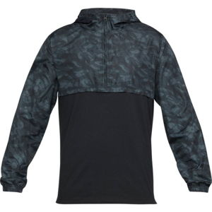 Pánska ľahká bunda Under Armour Wind Anorak Black / Stealth Gray / Black - XL