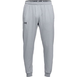 Pánske tepláky Under Armour Fleece Jogger Steel Light Heather/Black - XL