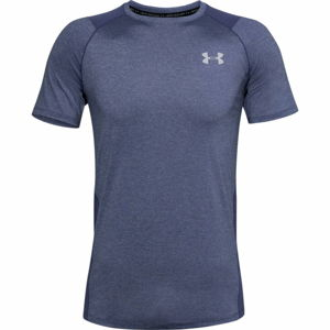 Pánske tričko Under Armour Raid 2.0 SS Left Chest Blue Ink - XXL