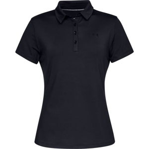 Dámske tričko s golierikom Under Armour Zinger Short Sleeve Polo Black - XL