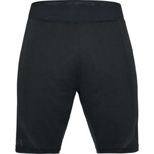 Pánske kraťasy Under Armour Threadborne Seamless Short BLACK / STEALTH GRAY - L