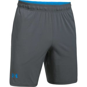 Pánske kraťasy Under Armour Cage Short GRAPHITE / MAKO BLUE - L