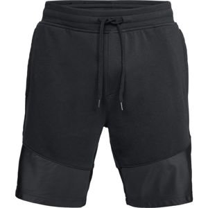 Pánske kraťasy Under Armour Threadborne Terry Short Black/Black - XXL