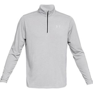 Pánska mikina Under Armour Threadborne Streaker 1/4 Zip Steel Light Heather / Charcoal Medium Heather / Reflective - S