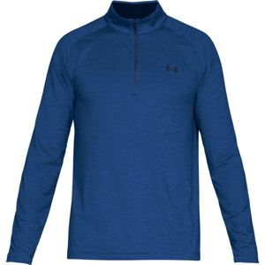Pánske tričko Under Armour Playoff 1/4 Zip Royal / Academy / Academy - XL