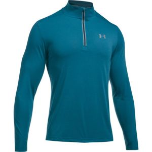 Pánska mikina Under Armour Threadborne Streaker 1/4 Zip BAYOU BLUE / TRUE INK / REFLECTIVE - M