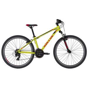 """Juniorský bicykel KELLYS NAGA 70 26"""" - model 2021 Neon Lime - 13,5"""" - Záruka 10 rokov"""