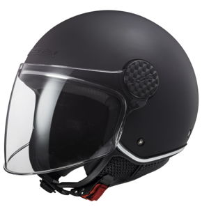 Moto prilba LS2 OF558 Sphere Lux Matt Matt Black - XXL (62-63)