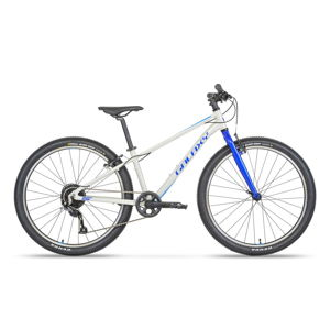 "Horský bicykel Galaxy Orbit 26"" - model 2021 šedá - 21"""