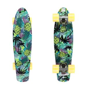 "Pennyboard Fish Print 22"" Pineapple-White-Summer Yellow"