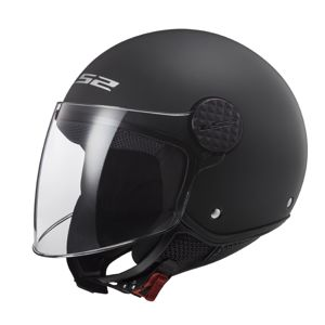 Moto prilba LS2 OF558 Sphere Solid Matt Black - XS (53-54)