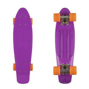 "Pennyboard Fish Classic 22"" Purple-Silver-Orange"