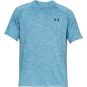 Pánske tričko Under Armour Tech SS Tee 2.0 Ether Blue - M