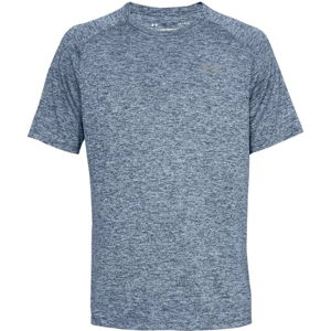 Pánske tričko Under Armour Tech SS Tee 2.0 Academy - XS