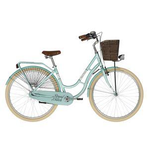 "Mestský bicykel KELLYS ROYAL DUTCH 28"" - model 2021 Mentol - 18"" - Záruka 10 rokov"