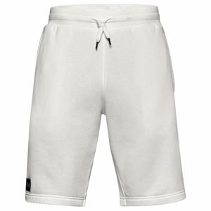 Pánske kraťasy Under Armour Rival Fleece Short Onyx White - S