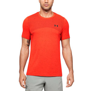 Pánske tričko Under Armour Seamless SS Beta Orange - S