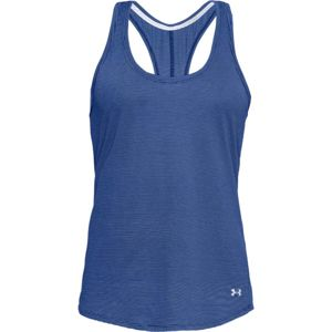 Dámske funkčné tielko Under Armour Threadborne Streaker Tank Formation Blue - S