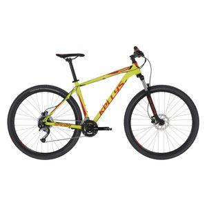 "Horský bicykel KELLYS SPIDER 30 27,5"" - model 2020 Neon Lime - XS (15"") - Záruka 10 rokov"