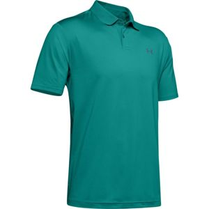 Pánske tričko Under Armour Performance Polo 2.0 Teal Rush - L