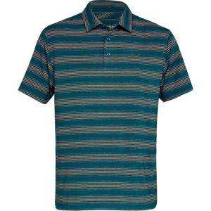 Pánske tričko Under Armour Playoff Polo Techno Teal / Techno Teal / Rhino Gray - L
