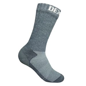 Nepremokavé ponožky DexShell Terrain Walking Sock Heather Grey - L